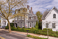 Second-Empire style home in Sag Harbor was built in 1865 by a clockmaker named Benjamin Hope, 165 Main St, Sag Harbor, NY