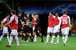 25-11-2009 VOETBAL: AZ - OLYNPIACOS<br /> Door het gelijke spel 0-0 in AZ uitgeschakeld in de Champions League / Teleurstelling bij AZ<br /> ©2009-WWW.FOTOHOOGENDOORN.NL