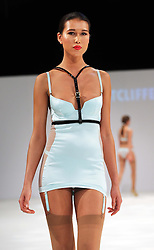 Lingerie designs by student Sophie Sutcliffe  at the De Montfort University show  at Graduate Fashion Week in London , Monday, 3rd June 2013<br /> Picture by:  Stephen Lock / i-Images