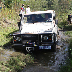 THURSDAY 13TH MAY 2010 / DURBAN SOUTH AFRICA<br />  Keegan Daniel  in the water<br /> during the Sharks  off road for the Land rover Experience