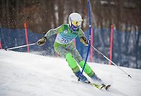 Gunstock Ski Club U14 Championship Slalom.  ©2016 Karen Bobotas Photographer