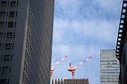new building under construction Tokyo Japan Maranouchi