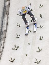 03.01.2014, Bergisel Schanze, Innsbruck, AUT, FIS Ski Sprung Weltcup, 62. Vierschanzentournee, Training, im Bild Thomas Diethart (AUT) // Thomas Diethart (AUT) during practice Jump of 62nd Four Hills Tournament of FIS Ski Jumping World Cup at the Bergisel Schanze, Innsbruck, <br /> Austria on 2014/01/03. EXPA Pictures © 2014, PhotoCredit: EXPA/ JFK
