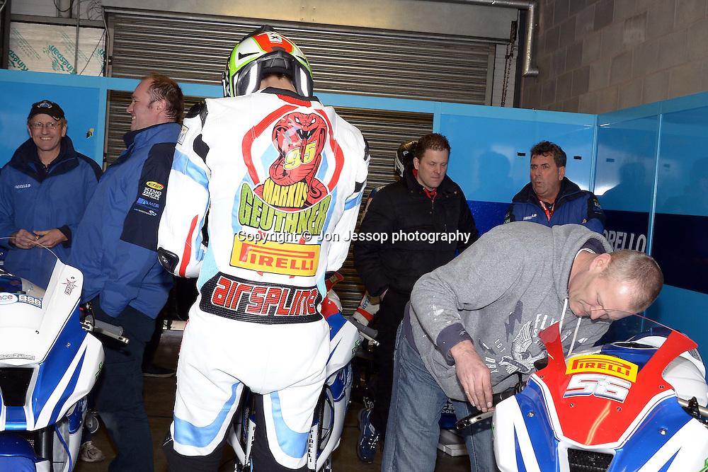 #95 Marcus Geutherner Morello Racing Kawasaki Pirelli National Superstock 1000 Championship