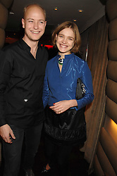 The HON.JUSTIN PORTMAN and his wife NATALIA VODIANOVA  at a party to celebrate the launch of the Kova & T fashion label and to re-launch the Harvey Nichols Fifth Floor Bar, held at harvey Nichols, Knightsbridge, London on 22nd November 2007.<br /><br />NON EXCLUSIVE - WORLD RIGHTS