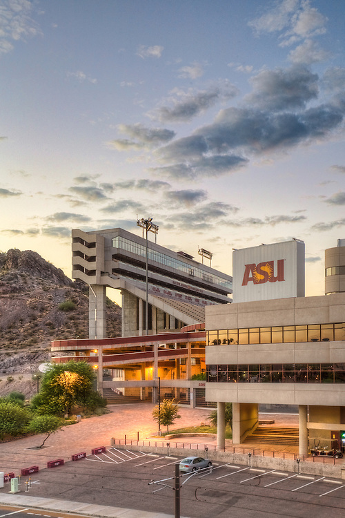 Sun Devil Stadium skyboxes, Arizona State University, Tempe, Arizona