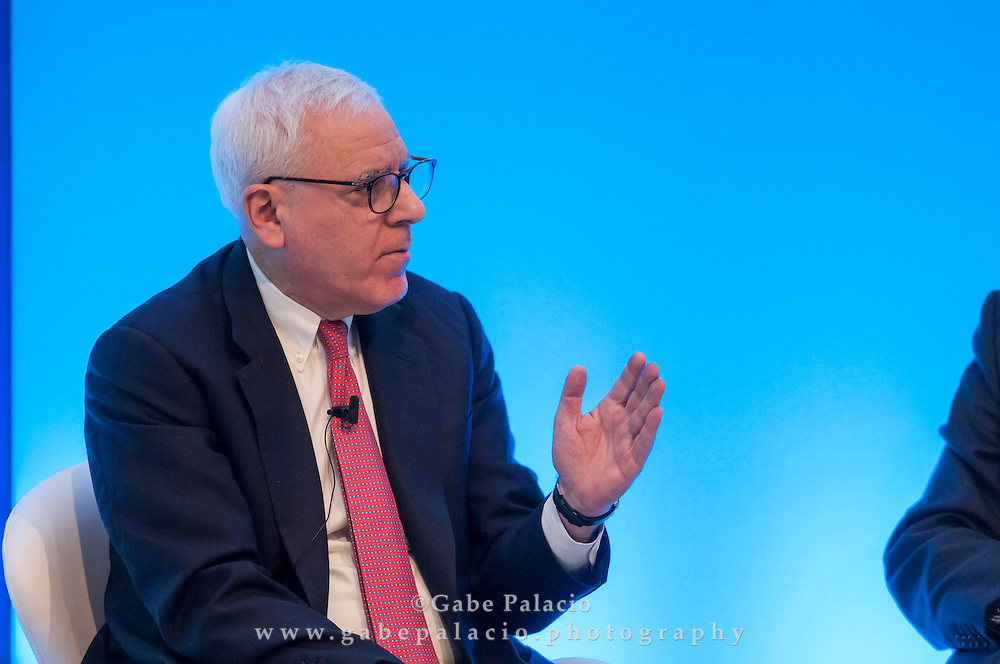 David M. Rubenstein, Co-founder and Co-CEO, The Carlyle Group, speaking at the Long Term Value Summit in New York on March 10, 2015.