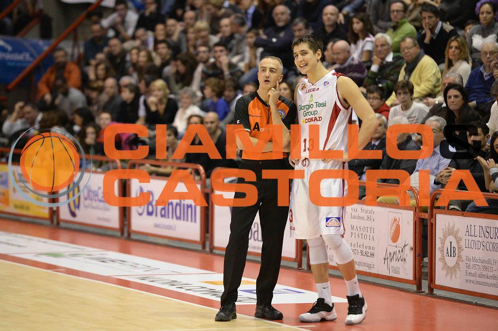 DESCRIZIONE : Pistoia Lega serie A 2013/14 Giorgio Tesi Group Pistoia Acea Roma<br /> GIOCATORE : Arbitro Riccardo Cortese<br /> CATEGORIA : Arbitro Fairpaly<br /> SQUADRA : Arbitro Giorgio Tesi Group Pistoia<br /> EVENTO : Campionato Lega Serie A 2013-2014<br /> GARA : Giorgio Tesi Group Pistoia Acea Roma<br /> DATA : 29/12/2013<br /> SPORT : Pallacanestro<br /> AUTORE : Agenzia Ciamillo-Castoria/GiulioCiamillo<br /> Galleria : Lega Seria A 2013-2014<br /> Fotonotizia : Pistoia Lega serie A 2013/14 Giorgio Tesi Group Pistoia Acea Roma<br /> Predefinita :