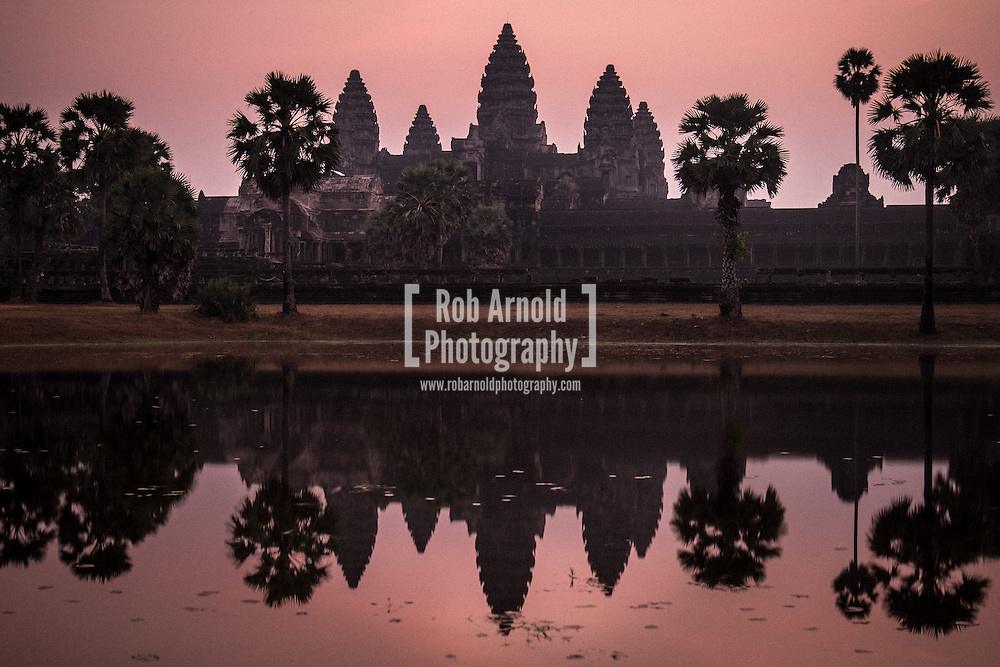 Dawn at Angkor Wat, Cambodia