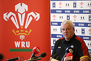 110216 Wales rugby press conf