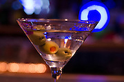 Shaken not stirred, the gin martini replaces the iconic margarita at local Tucumcari tavern.