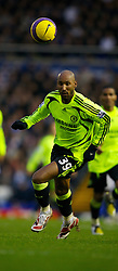 BIRMINGHAM, ENGLAND - Saturday, January 19, 2008: Chelsea's Nicolas Anelka in action against Birmingham City during the Premiership match at St Andrews. (Photo by David Rawcliffe/Propaganda)