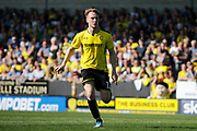 Burton Albion striker Cauley Woodrow (12) during the EFL Sky Bet Championship match between Burton Albion and Aston Villa at the Pirelli Stadium, Burton upon Trent, England on 8 April 2017. Photo by Richard Holmes.