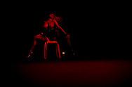 Sao Paulo, Brazil, April 07 of 2011:  Stripper performance at 2011 Erotika fair, in Sao Paulo. (photo: Caio Guatelli)