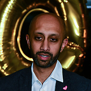 Jay Patel attend Awareness gala hosted by the Health Committee with live music and poetry performances at City Hall at The Queen's Walk, London, UK. 18 March 2019.