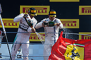 September 3-5, 2015 - Italian Grand Prix at Monza: Lewis Hamilton (GBR), Mercedes, Felipe Massa (BRA), Williams Martini Racing