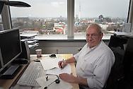 Ralph Wimmer, Versicherungkaufmann bei Basler Versicherung Hamburg, für Ver.di publik. Foto: Mauricio Bustamante