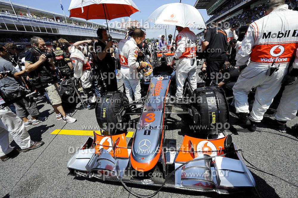 22.05.2011, Circuit de Catalunya, Barcelona, ESP, Großer Preis von Spanien / Barcelona, RACE 05, im Bild  Lewis Hamilton (GBR), McLaren F1 Team    EXPA Pictures © 2011, PhotoCredit: EXPA/ nph/  Dieter Mathis (bitte als Fotovermerk angeben)        ****** only for AUT, POL & SLO ******