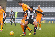 Ethan Erhahon of St Mirren looses possession during the Ladbrokes Scottish Premiership match between St Mirren and Livingston at the Simple Digital Arena, Paisley, Scotland on 2nd March 2019.
