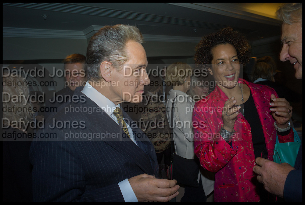 PETER YORK; AMINATTA FORNA,  Fortnum and Mason and Quartet books host a celebration for the publication of  The White Umbrella by Brian Sewell. Illustrated by Sally Ann Lasson. Fortnum and Mason. Piccadilly. London. 3 March 2015.