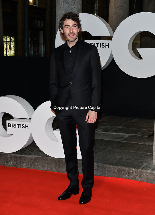 Robert Konjic Arrivers at GQ 30th Anniversary celebration at Sushisamba, The Market, Convent Garden on 29 October 2018.