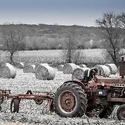 A scene from Wisconsin's harvest season