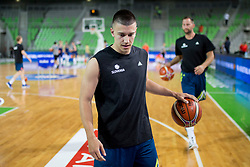 Matic Rebec of Slovenia during basketball match between Slovenia and Spain in Round #5 of FIBA Basketball World Cup 2019 European Qualifiers, on June 28, 2018 in SRC Stozice, Ljubljana, Slovenia. Photo by Urban Urbanc / Sportida