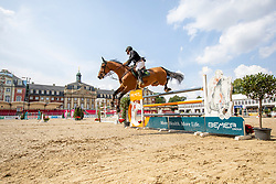 AL KUMEITI Mohammed (UAE), TAITTINGER DE ALTUBE<br /> Münster - Turnier der Sieger 2019<br /> Preis des EINRICHTUNGSHAUS OSTERMANN, WITTEN<br /> CSI4* - Int. Jumping competition  (1.45 m) - <br /> 1. Qualifikation Mittlere Tour<br /> Medium Tour<br /> 02. August 2019<br /> © www.sportfotos-lafrentz.de/Stefan Lafrentz