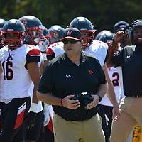 Football: Methodist University Monarchs vs. Catholic University Cardinals