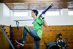 Peter Prevc during fitness training of Slovenian Ski jumping National A team, on May 6, 2016, in Stadium Kranj, Slovenia.Photo by Vid Ponikvar / Sportida