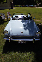 2018 Champagne British Car Festival held on Clover Lawn at David Davis Mansion in Bloomington IL<br /> <br /> 1962 Sunbeam Alpine
