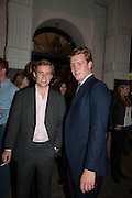 WILLIAM TOBIN; HEMMO BLOEMERS, The Gentleman's Journal Autumn Party, in partnership with Gieves and Hawkes- No. 1 Savile Row London. 3 October 2013