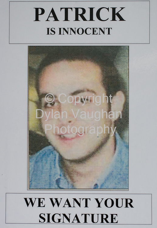 28/5/2008.Patrick Malluzzo who is in an Indian prison..Picture Dylan Vaughan.