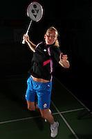 Imogen Bankier Scotland Badminton, World Champiosnhips Photoshoot, NBC, Milton Keynes, 2011