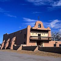 USA, New Mexico, Santa Fe. San Ildefonso Pueblo.