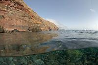 Mission: Monk Seal <br /> Desertas Islands &ndash; Deserta Grande - Madeira, Portugal. August 2009.<br /> Freediving Underwater Photography, general landscape/sealife of desertas