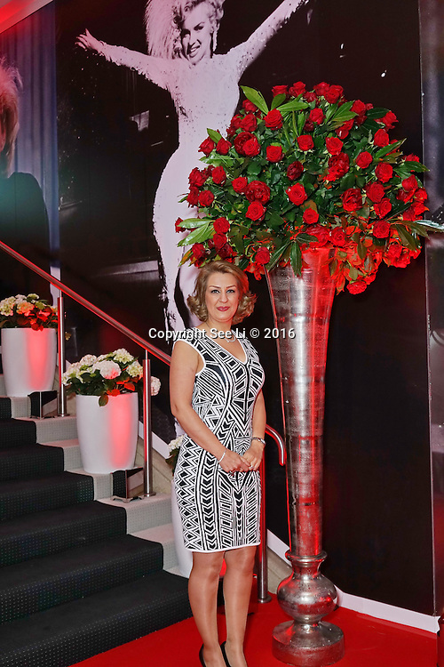 London,England,UK : 25th May 2016 : Leila Motlagh attend the Marilyn Monroe: Legacy of a Legend launch at the Design Centre, Chelsea Harbour, London. Photo by See Li
