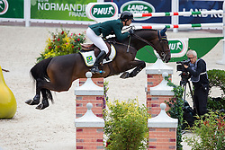 Rodrigo Pessoa, (BRA), Status - Team & Individual Competition Jumping Speed - Alltech FEI World Equestrian Games™ 2014 - Normandy, France.<br /> © Hippo Foto Team - Leanjo De Koster<br /> 02-09-14