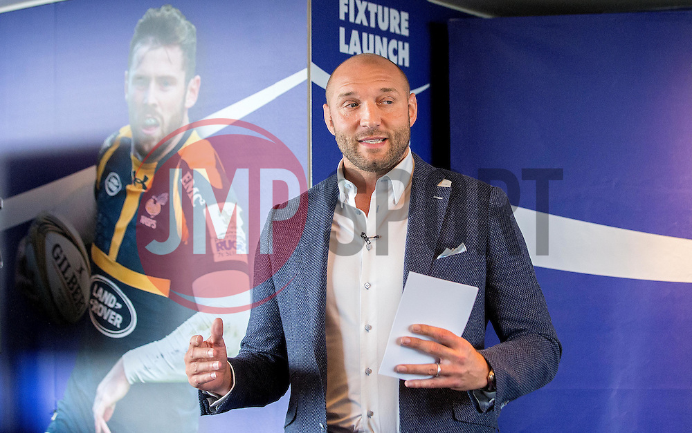 BT Sport pundit Ben Kay speaks at the Aviva Premiership fixture launch - Mandatory by-line: Robbie Stephenson/JMP - 07/07/2016 - RUGBY - BT Tower - London, United Kingdom  - Aviva Premiership Fixture Launch