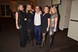 Left to right, Hofit Golan, Marissa Montgomery, Touker Suleyman,  Francesca Dutton and Camilla Kerslake at the Debrett's 500 Party recognising Britain's 500 most influential people, held at BAFTA, 195 Piccadilly, London England. 23 January 2017.<br /> No UK magazines - contact www.silverhubmedia.com