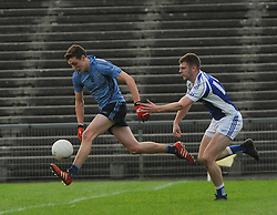 Flying Fionn McDonagh Westport forward races towards goal during the Intermediate county final on saturday night in McHale park.<br /> Pic Conor McKeown