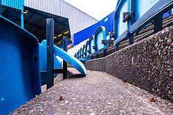 Broken seats inside Hillsborough Stadium, home to Sheffield Wednesday - Mandatory by-line: Ryan Crockett/JMP - 05/01/2019 - FOOTBALL - Hillsborough - Sheffield, England - Sheffield Wednesday v Luton Town - Emirates FA Cup third round proper