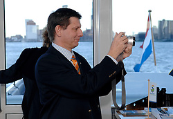 09-12-2006 VOLLEYBAL: CEV OP BEZOEK IN NEDERLAND: ROTTERDAM<br /> De board of Executive Committee CEV waren uitgenodigd door Rotterdam, Rotterdam Topsport en de NeVoBo voor de uitleg van O[peration Restore Confidence / Olivier Mottier<br /> ©2006-WWW.FOTOHOOGENDOORN.NL