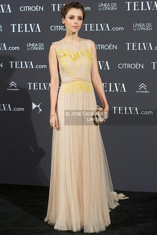 Letizia Dolera attends Telva Awards 2012 at Hotel Palace on November 6, 2012 in Madrid, Spain