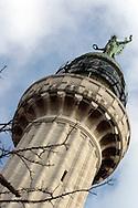 Trieste,Faro della vittoria: Monumento commemorativo in onore dei caduti del mare durante la prima guerra mondiale. Trieste, Lighthouse of victory: Memorial in honor of those who died in the sea during the First World War.