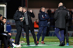 Peterborough United Manager Grant McCann talks to the fourth official during the game - Mandatory by-line: Joe Dent/JMP - 25/11/2017 - FOOTBALL - Crown Oil Arena - Rochdale, England - Rochdale v Peterborough United - Sky Bet League One