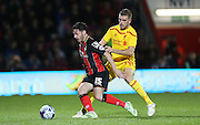 AFC Bournemouth defender Adam Smith during the Capital One Cup match between Bournemouth and Liverpool at the Goldsands Stadium, Bournemouth, England on 17 December 2014.