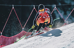 24.01.2020, Streif, Kitzbühel, AUT, FIS Weltcup Ski Alpin, SuperG, Herren, im Bild James Crawford (CAN) // James Crawford of Canada in action during his run for the men's SuperG of FIS Ski Alpine World Cup at the Streif in Kitzbühel, Austria on 2020/01/24. EXPA Pictures © 2020, PhotoCredit: EXPA/ JFK