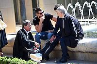 Jean Marc Phung (avocat) / Luka karabatic - 17.06.2015 - Proces des paris sportifs du Handball - Montpellier<br /> Photo : Alexandre Dimou / Icon Sport