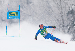 Florian Eisath of Italy during 1st run of Men's Giant Slalom race of FIS Alpine Ski World Cup 57th Vitranc Cup 2018, on 3.3.2018 in Podkoren, Kranjska gora, Slovenia. Photo by Urban Meglič / Sportida